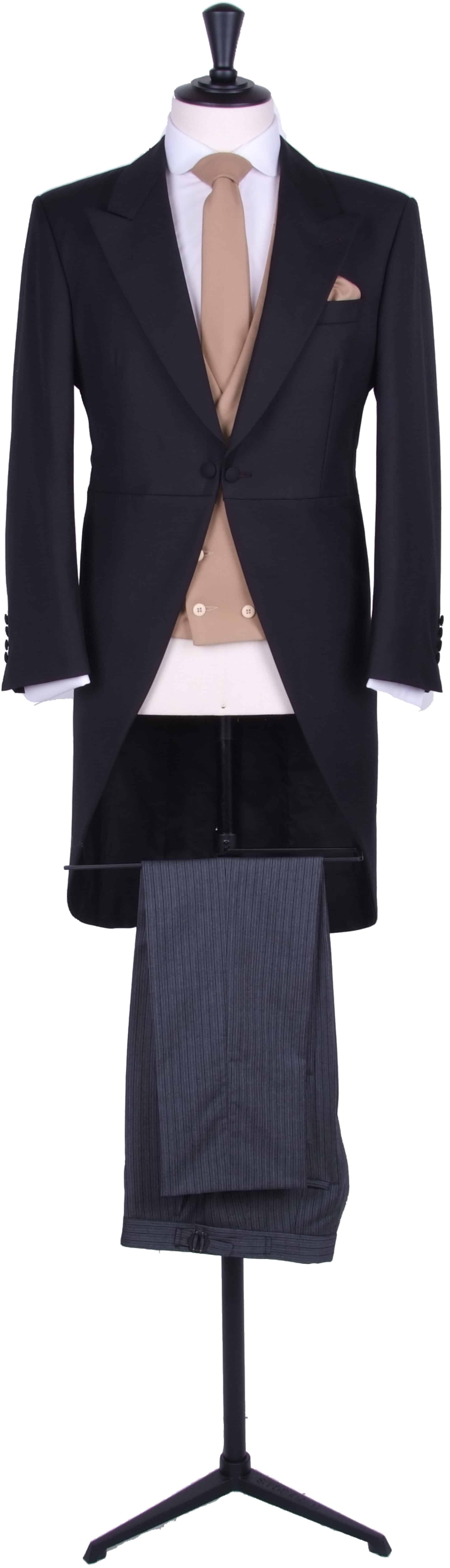Light weight tailcoat suit