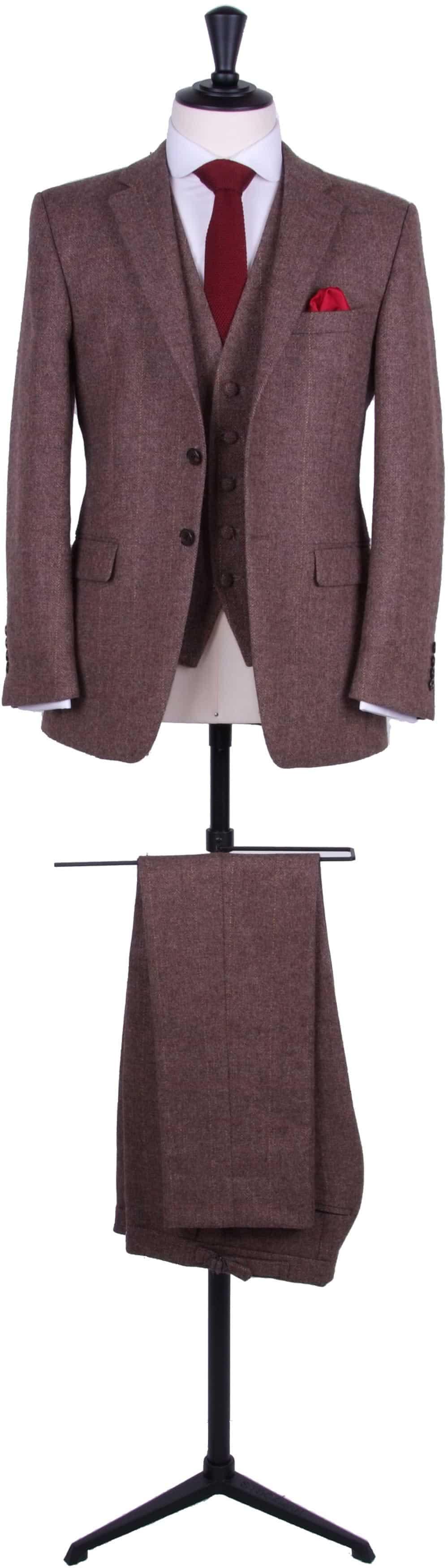 Vintage tweed suit