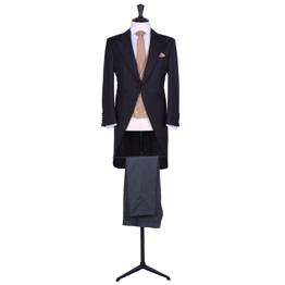 Slim fit tailcoat suit hire