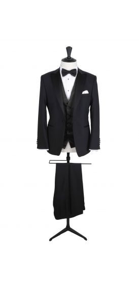 Dinner suit slim fit hire with scoop