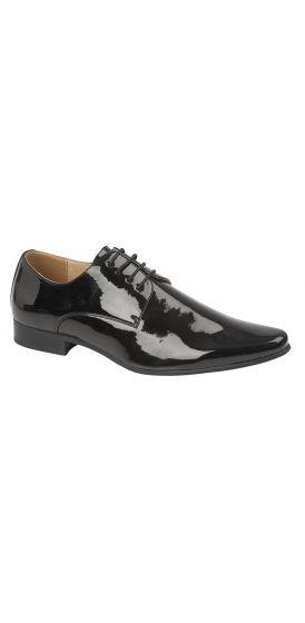 Black patent hire shoes