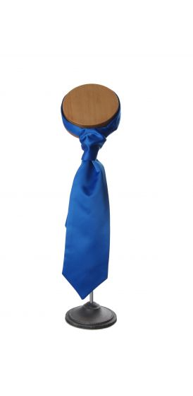 Royal blue wedding cravat