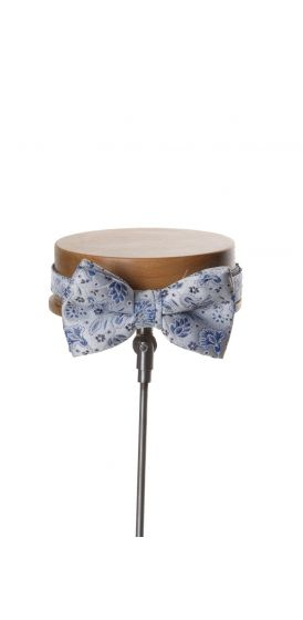 Royal blue wedding bow tie