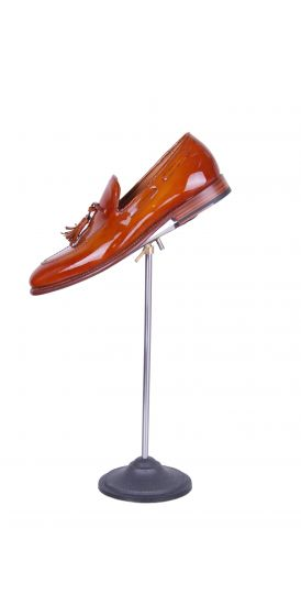 grooms wedding shoe loafer tan