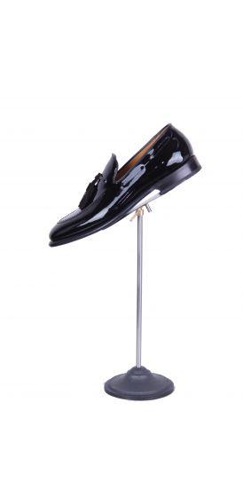 grooms wedding shoe loafer black