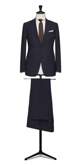 high twisted lightweight tropical navy wedding suit