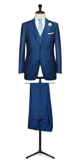 royal blue wedding suit