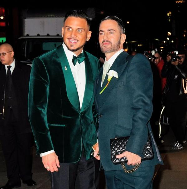 Marc Jacobs & Charly 'Char' DeFrancesco wedding suits