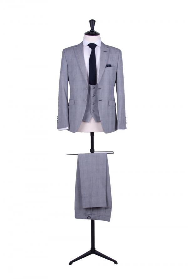 Prince of Wales wedding suit fabric