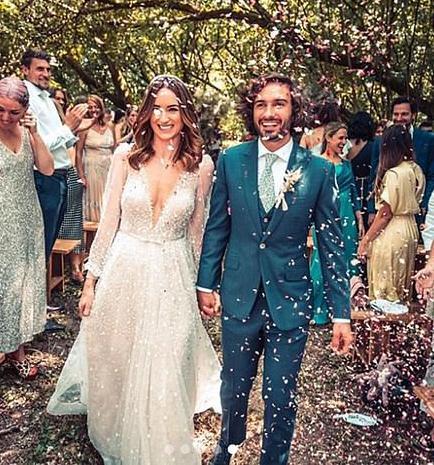 Body Coach, Joe Wicks wedding suit