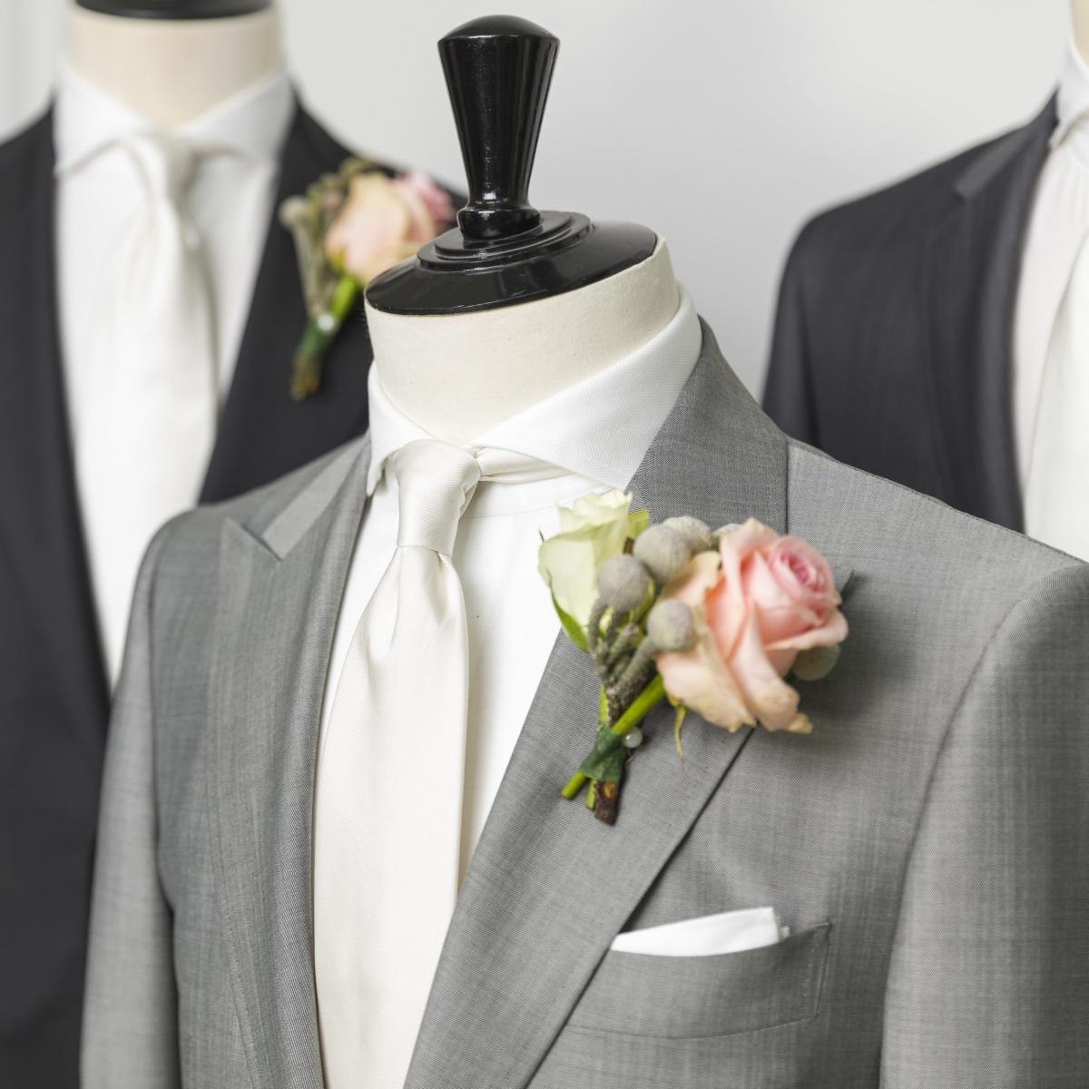 Wedding suit - a selection of our ranges.