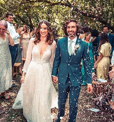 Body Coach, Joe Wicks wedding suit