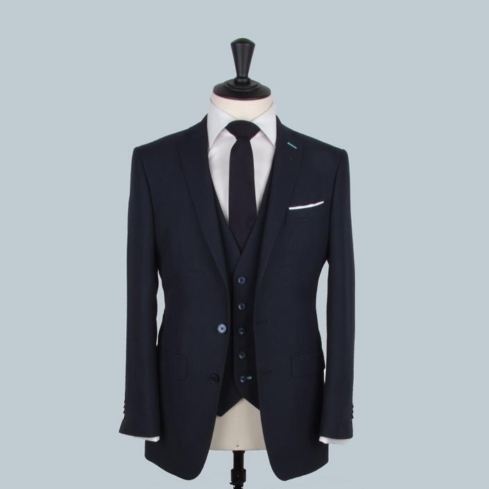 Etch navy suits