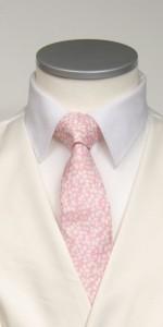 pink liberty print tie