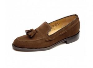 Suede wedding loafer