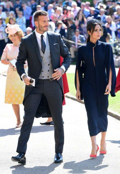 Beckham royal wedding slim fit tails.
