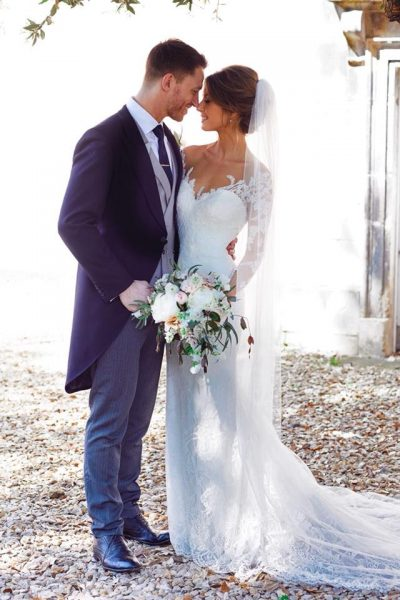 Slim fit morning suit wedding hire