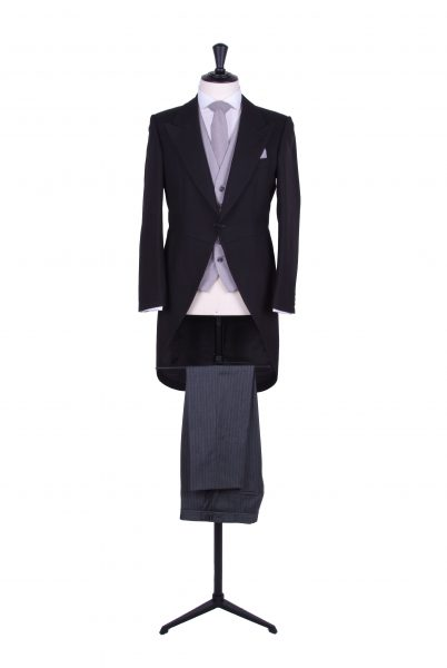 black tails morning suit hire