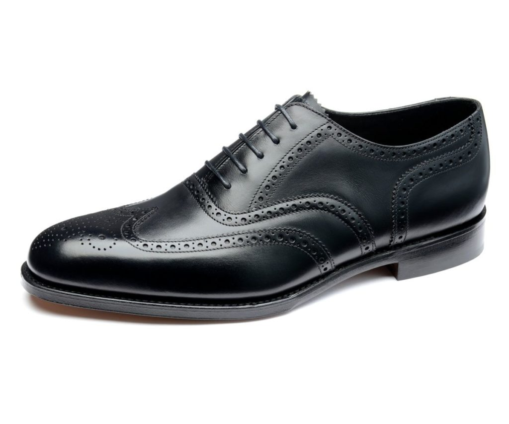 Loake Buckingham black