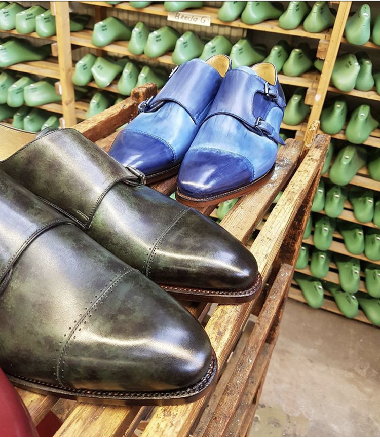 Bespoke shoe making