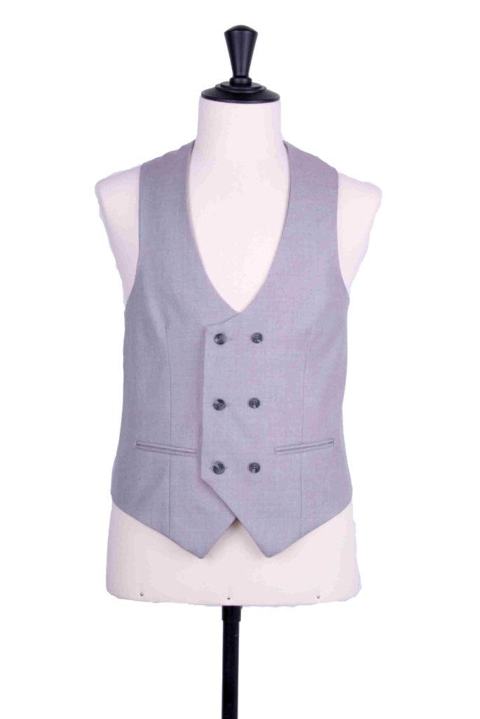 Ascot grey waistcoat scoop DB waistcoat