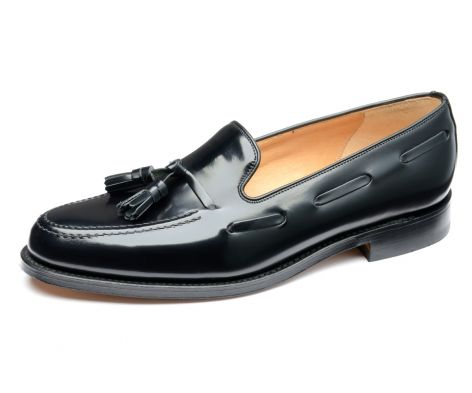 Loake loafer Lincoln black leather