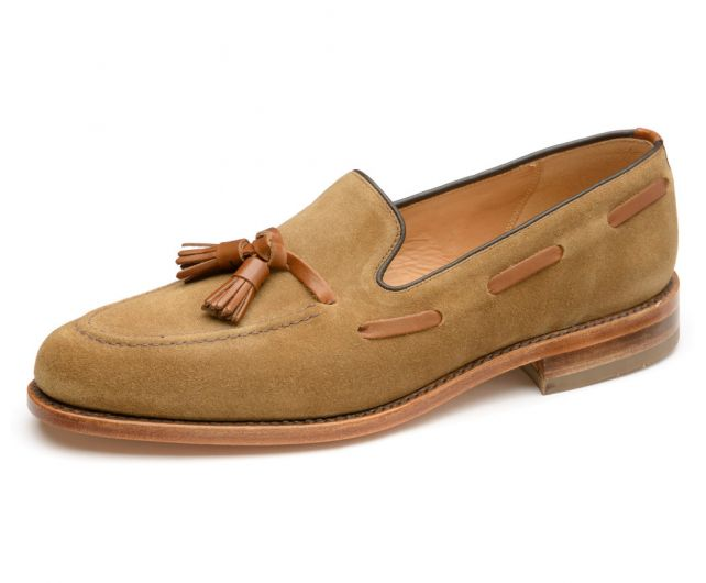 Loake loafer Lincoln tan suede
