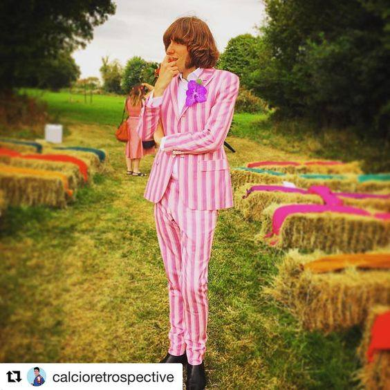 Anthony made-to-measure candy stripe suit