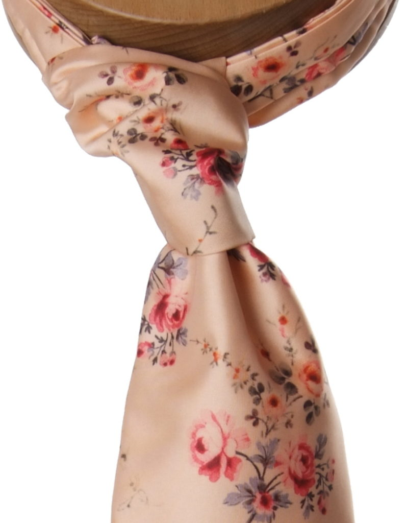 Badly tied cravat
