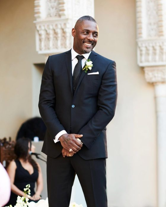 Idris Elba wedding suit