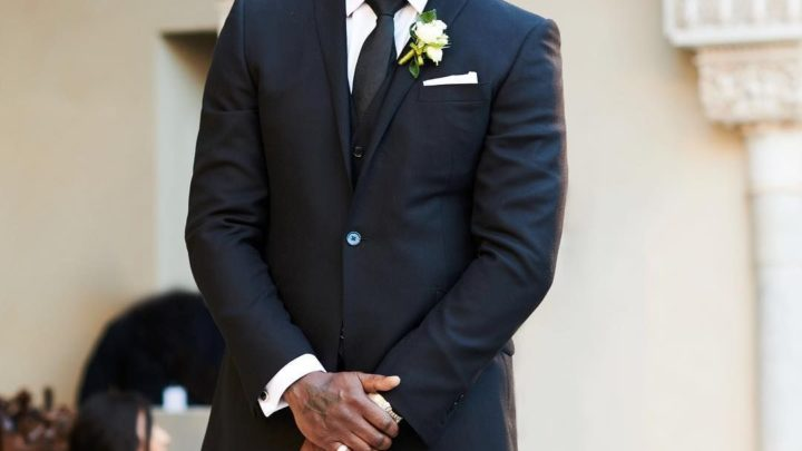 Idris Elba wedding suit
