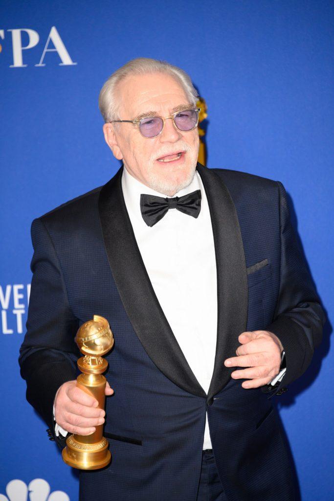 Brian Cox at Golden Globes 2020