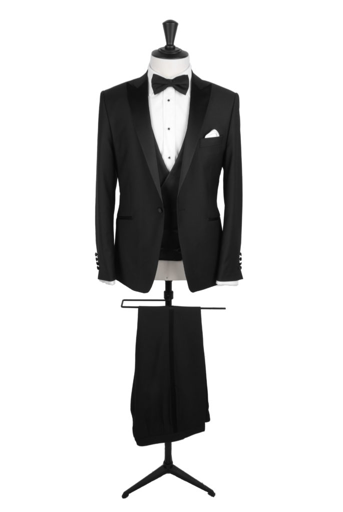 Dog tooth hire evening suit