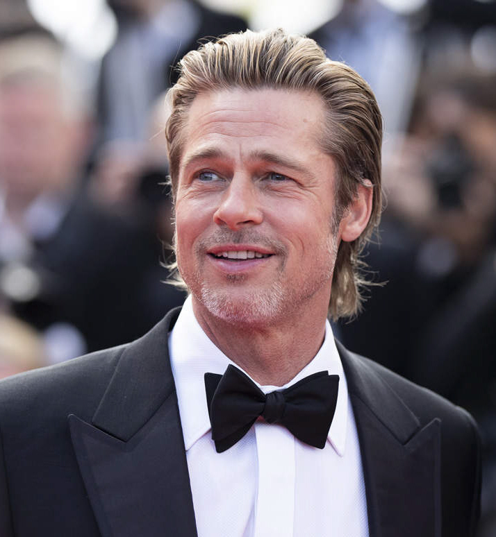 Brad Pitt at Golden Globes 2020