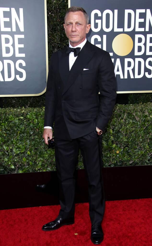 Daniel Craig at Golden Globes 2020