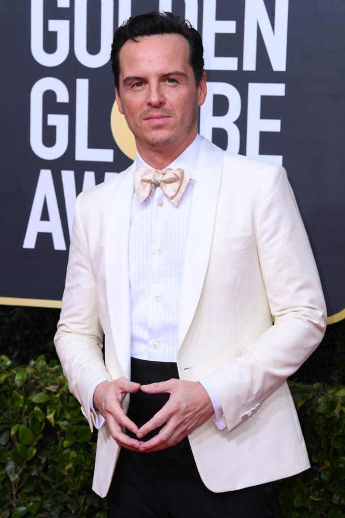 Andrew Scott at Golden Globes 2020