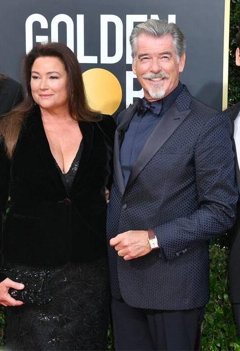 Pierce Brosnan at Golden Globes 2020