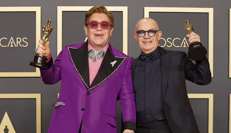 Elton John & Bernie Taupin Oscars 2020