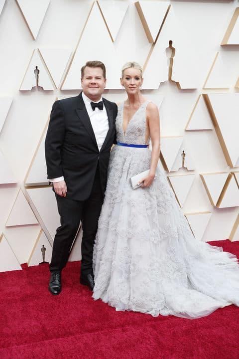 James Corden at The Oscars 2020