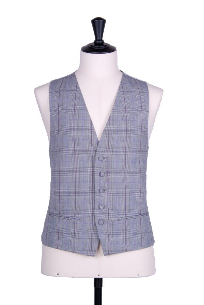Prince of Wales purple SB waistcoat