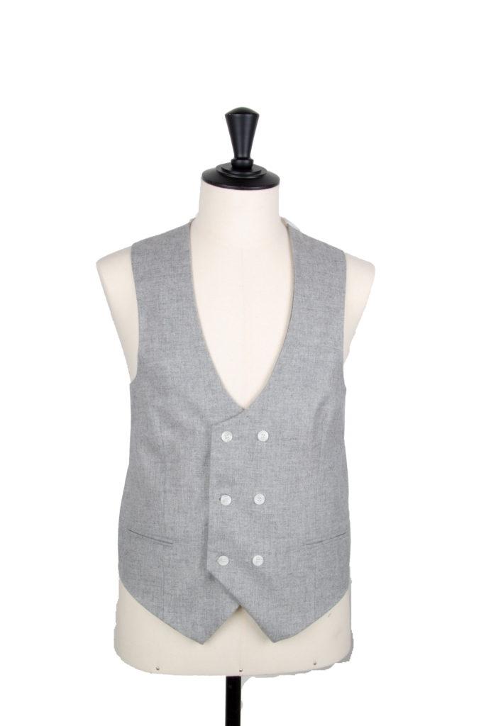 Lambs wool grey SDB waistcoat