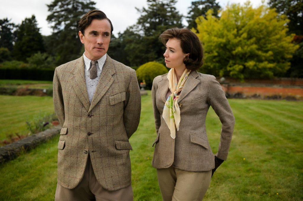 the crown tweed suit