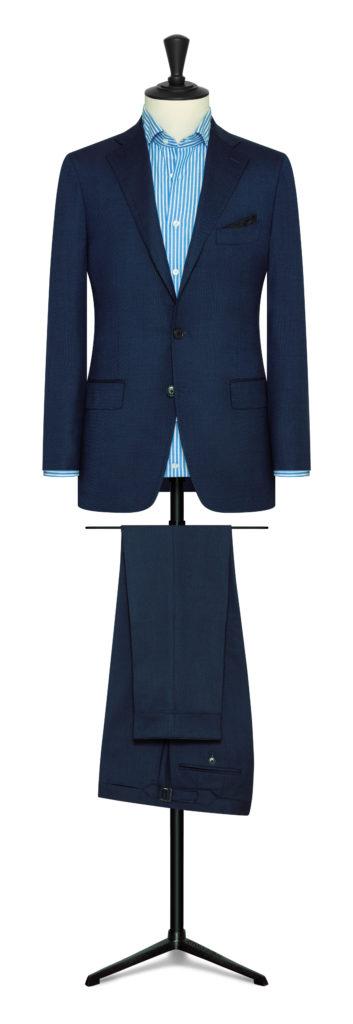 MTM navy suit