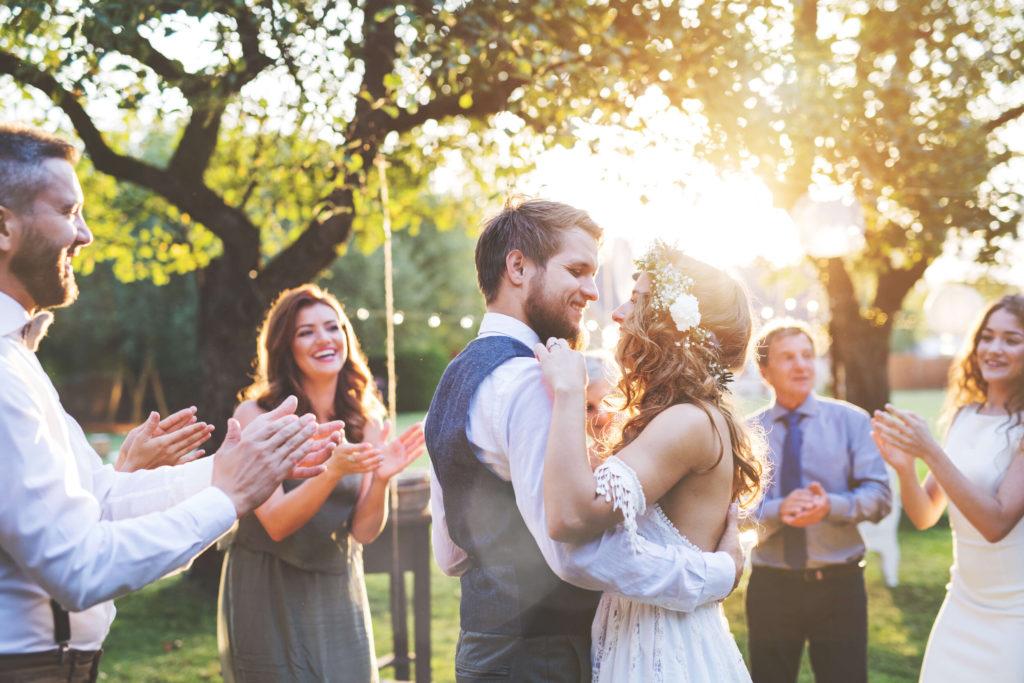 micro wedding groom suit boho